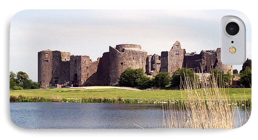 Roscommon IPhone 7 Case featuring the photograph Roscommon Castle Ireland by Teresa Mucha