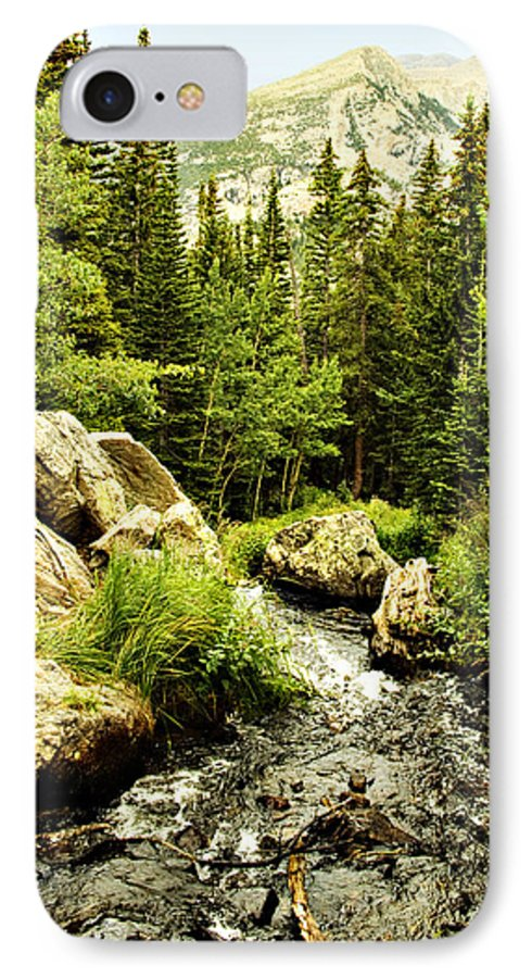 Colorado IPhone 7 Case featuring the photograph Running River by Marilyn Hunt