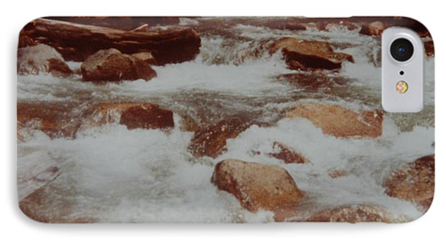 Water IPhone 7 Case featuring the photograph Rushing Water by Rob Hans