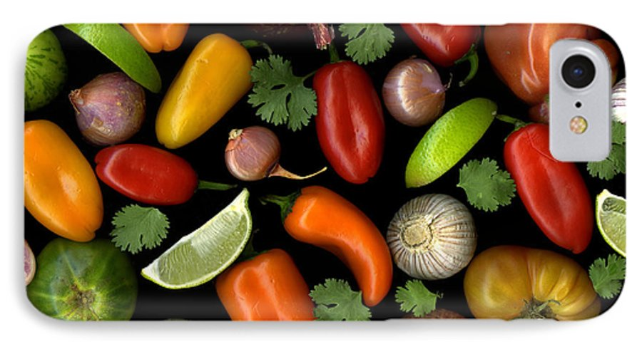 Culinary IPhone 7 Case featuring the photograph Salsa by Christian Slanec