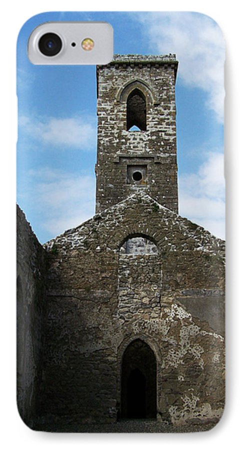 Ireland IPhone 7 Case featuring the photograph Sanctuary Fuerty Church Roscommon Ireland by Teresa Mucha