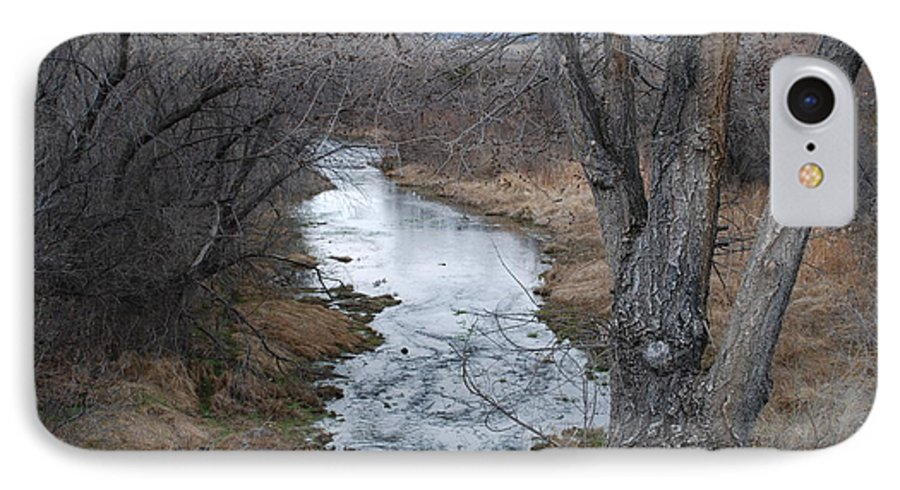 Santa Fe IPhone 7 Case featuring the photograph Santa Fe River by Rob Hans