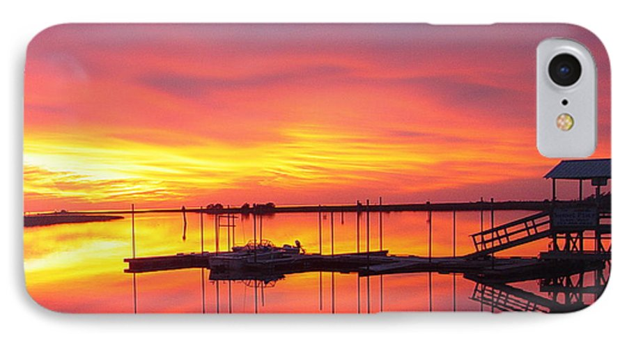 Sunsets IPhone 7 Case featuring the photograph Seeing Is Believing by Debbie May