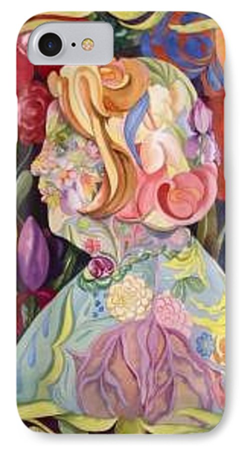 Portrait IPhone 7 Case featuring the painting Self Portrait by Marlene Gremillion