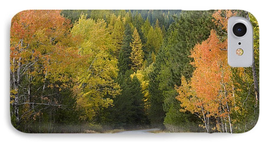 Trees IPhone 7 Case featuring the photograph Selkirk Color by Idaho Scenic Images Linda Lantzy