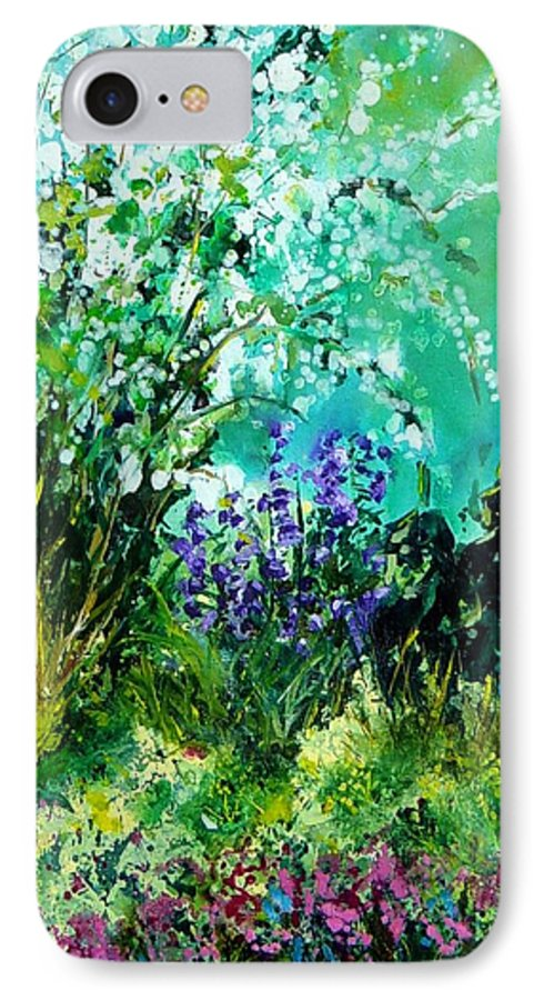 Tree IPhone 7 Case featuring the painting Seringa by Pol Ledent