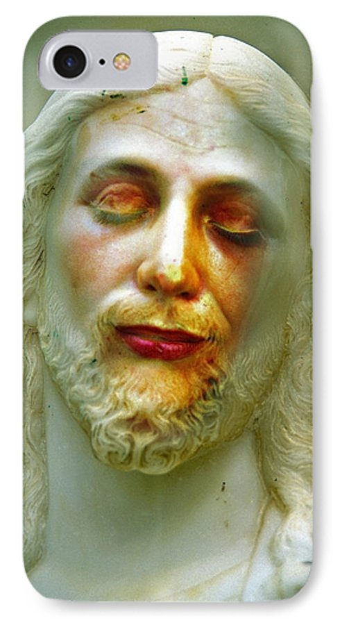 Jesus IPhone 7 Case featuring the photograph Shesus by Skip Hunt