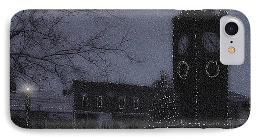 Night IPhone 7 Case featuring the photograph Silent Night by Kenneth Krolikowski
