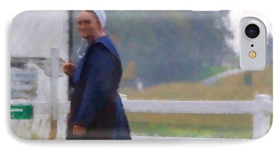 Amish IPhone 7 Case featuring the photograph Simple Living by Debbi Granruth