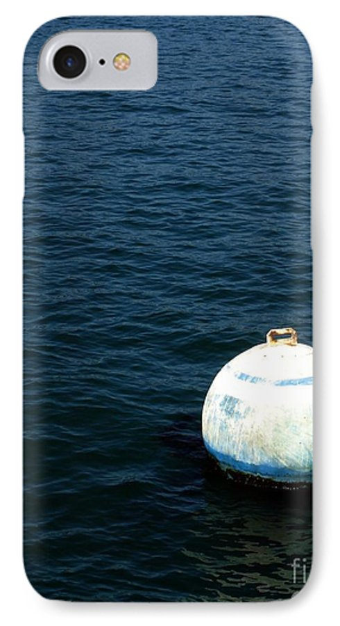 Seascape IPhone 7 Case featuring the photograph Sit And Bounce by Shelley Jones