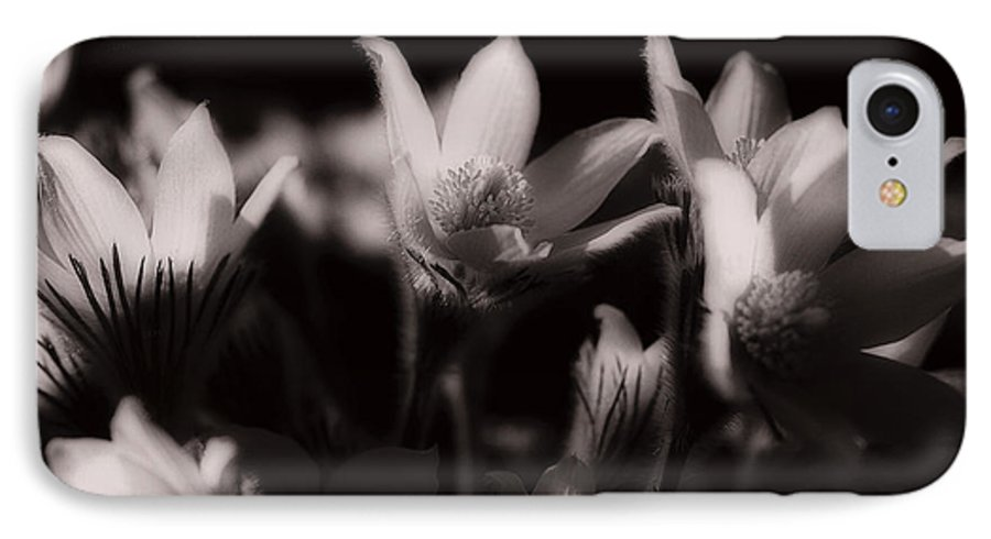 Flowers IPhone 7 Case featuring the photograph Sleepy Flowers by Marilyn Hunt
