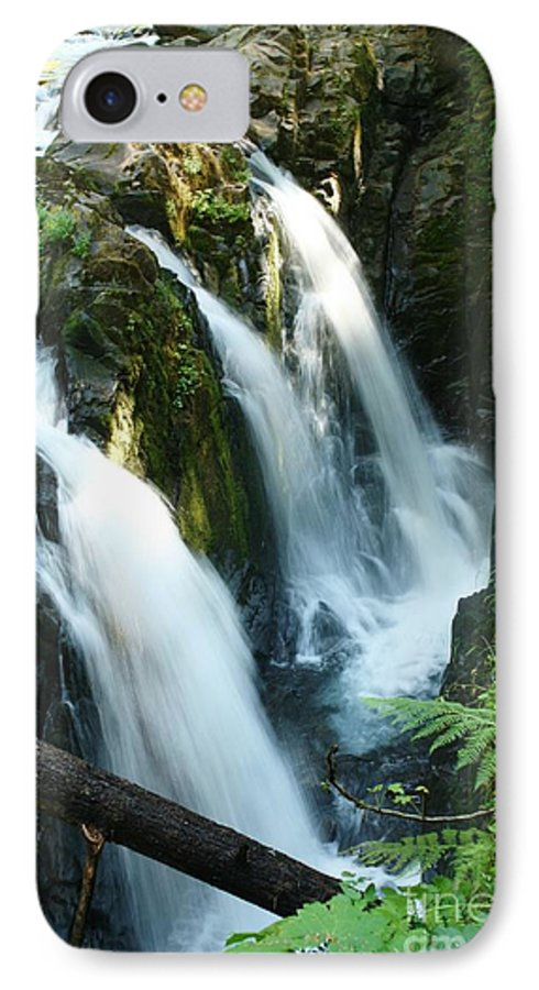 Waterfall IPhone 7 Case featuring the photograph Sol Duc Falls by Idaho Scenic Images Linda Lantzy