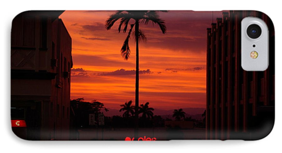 Innisfail IPhone 7 Case featuring the photograph Solitary Passage by Kerryn Madsen- Pietsch