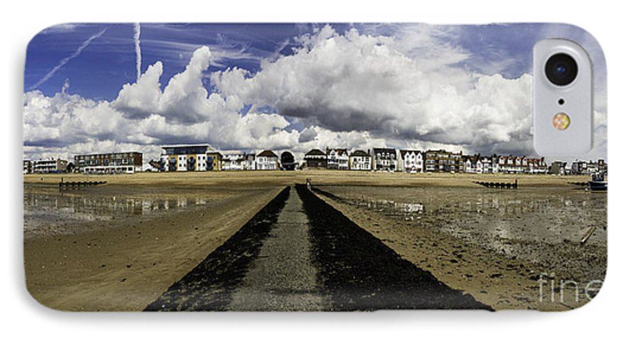 Southend On Sea IPhone 7 Case featuring the photograph Southend On Sea Panorama by Sheila Smart Fine Art Photography