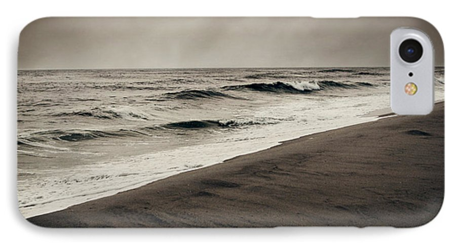 Ocean IPhone 7 Case featuring the photograph Spending My Days Escaping Memories by Dana DiPasquale
