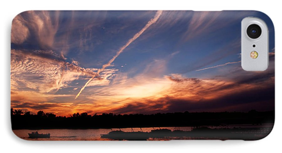 Sky IPhone 7 Case featuring the photograph Spirits In The Sky by Gaby Swanson
