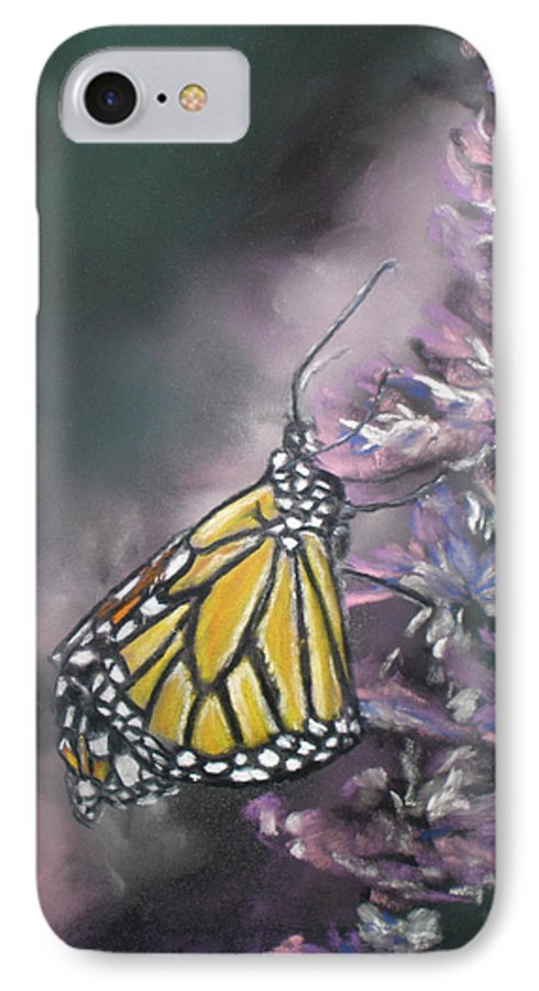 Spring IPhone 7 Case featuring the painting Spring by Cathy Weaver