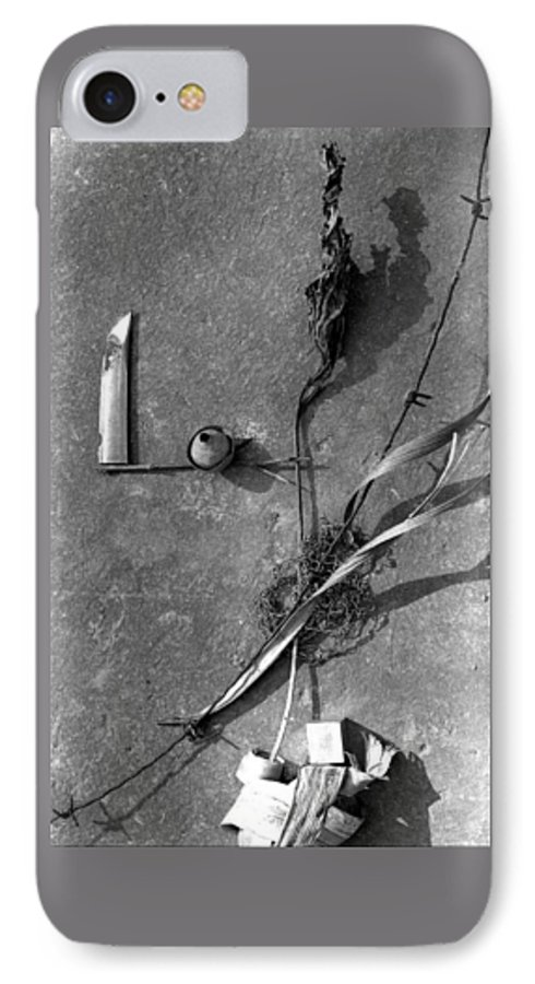 Still Life IPhone 7 Case featuring the photograph Still Forms by Ted M Tubbs
