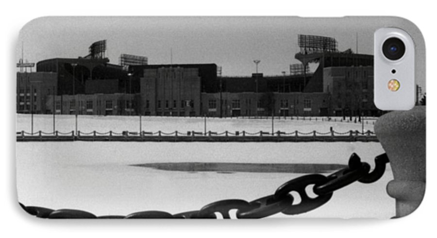 Cleveland IPhone 7 Case featuring the photograph Still Standing by Kenneth Krolikowski