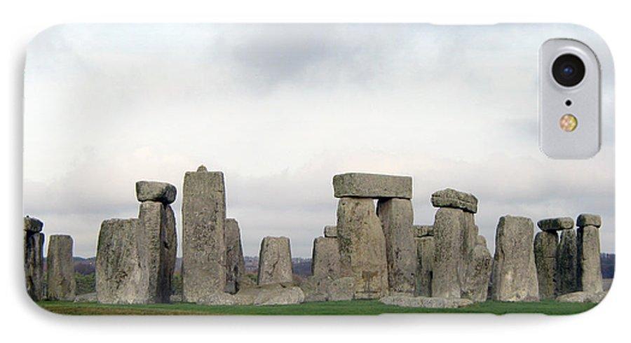 Stonehenge IPhone 7 Case featuring the photograph Stonehenge by Amanda Barcon