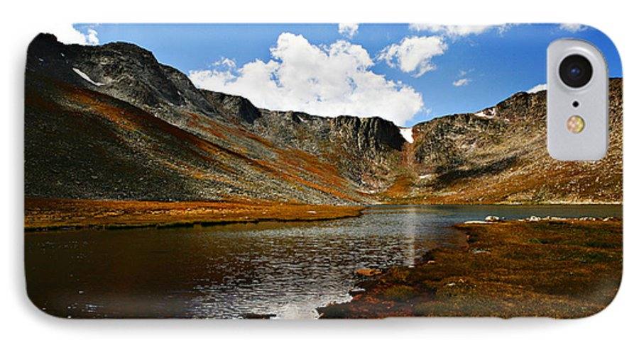 Travel IPhone 7 Case featuring the photograph Summit Lake Colorado by Marilyn Hunt