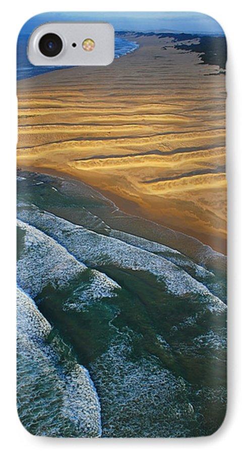 Coast IPhone 7 Case featuring the photograph Sun Rise Coast by Skip Hunt