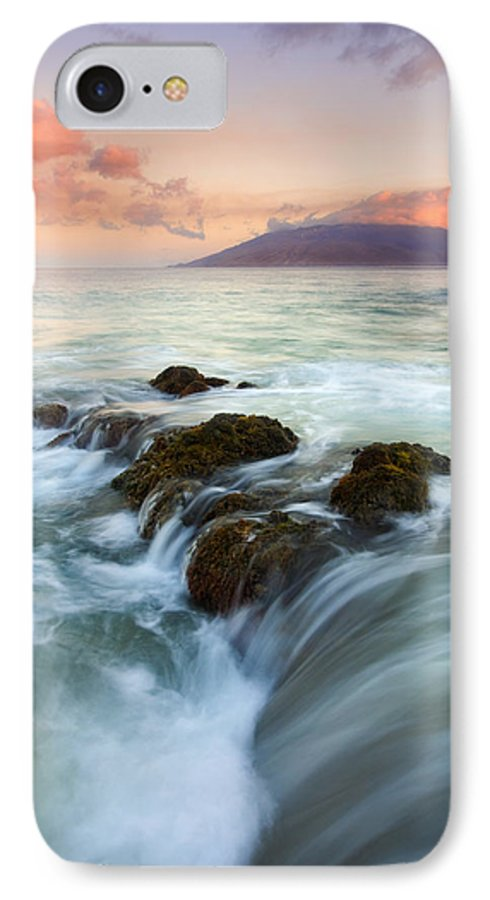 Sunrise IPhone 7 Case featuring the photograph Sunrise Drain by Mike Dawson