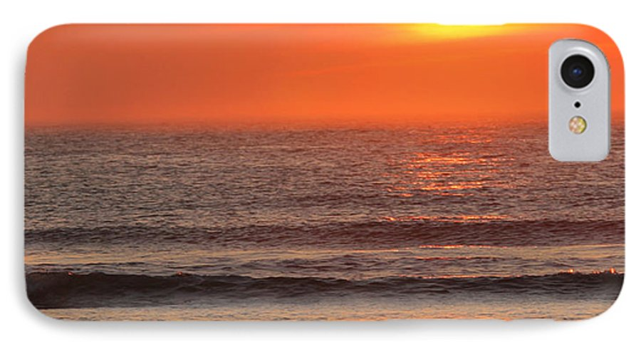 Ocean IPhone 7 Case featuring the photograph Sunrise On The Oceanside by Max Allen