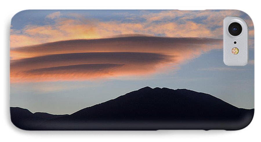 Taos IPhone 7 Case featuring the photograph Taos Sunset by Jerry McElroy