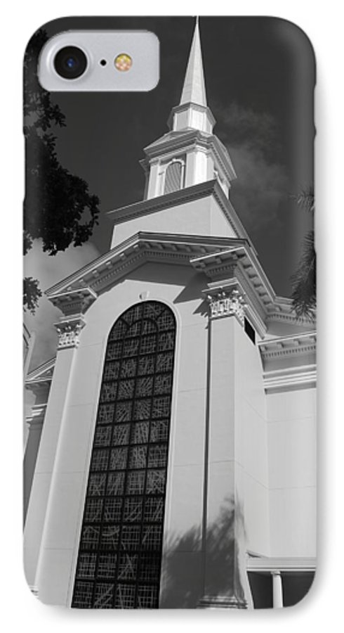 Architecture IPhone 7 Case featuring the photograph Thats Church by Rob Hans