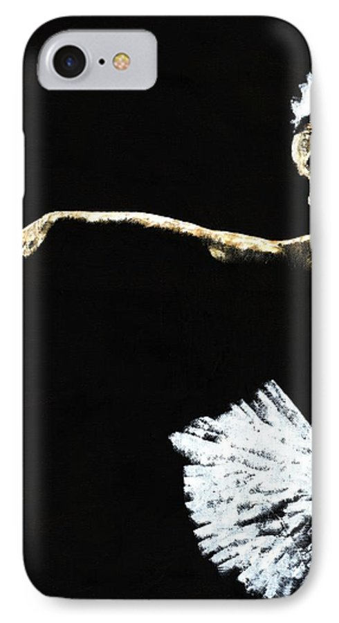 Ballet IPhone 7 Case featuring the painting The Art Of Grace by Richard Young