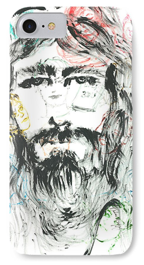Jesus IPhone 7 Case featuring the painting The Emotions Of Jesus by Nadine Rippelmeyer