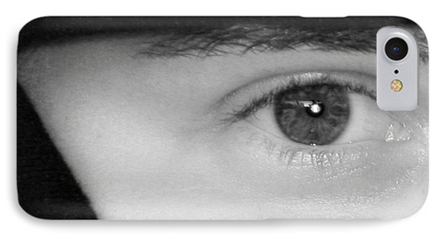 Eyes IPhone 7 Case featuring the photograph The Eyes Have It by Christine Till
