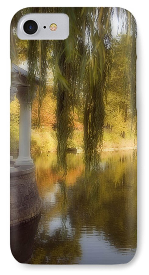 Water IPhone 7 Case featuring the photograph The Gazebo by Ayesha Lakes