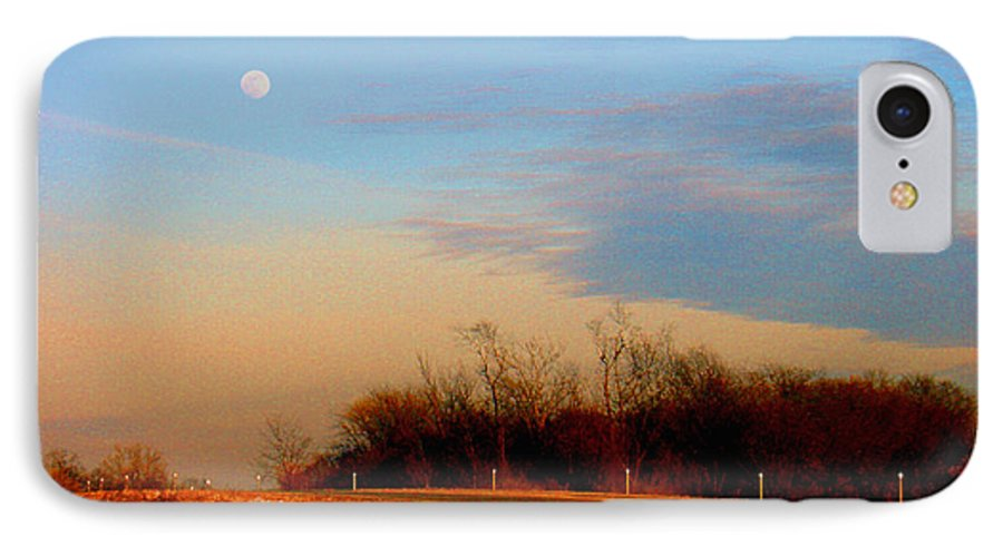 Landscape IPhone 7 Case featuring the photograph The On Ramp by Steve Karol