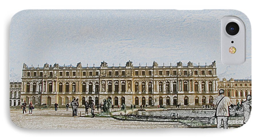 Palace IPhone 7 Case featuring the photograph The Palace Of Versailles by Amanda Barcon