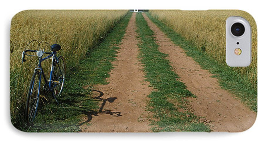 Dirt IPhone 7 Case featuring the photograph The Road To Home by Carl Purcell