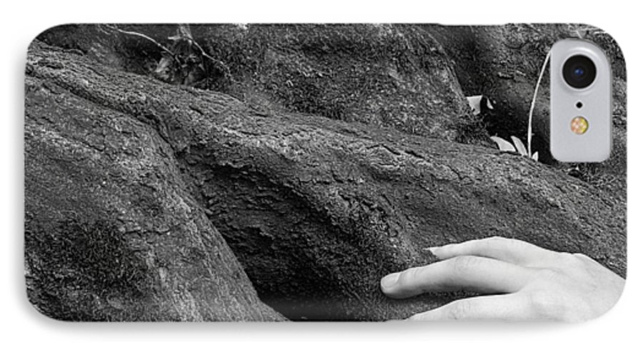 Nature IPhone 7 Case featuring the photograph The Roots by Daniel Csoka