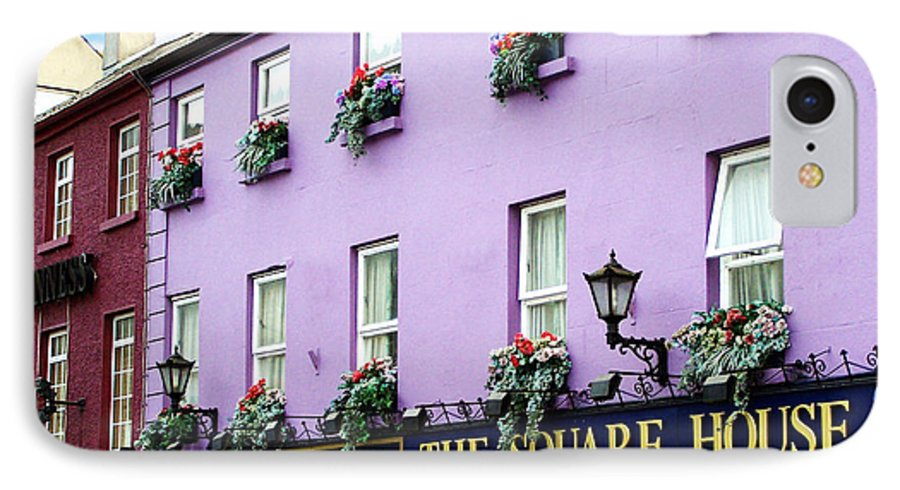 Irish IPhone 7 Case featuring the photograph The Square House Athlone Ireland by Teresa Mucha