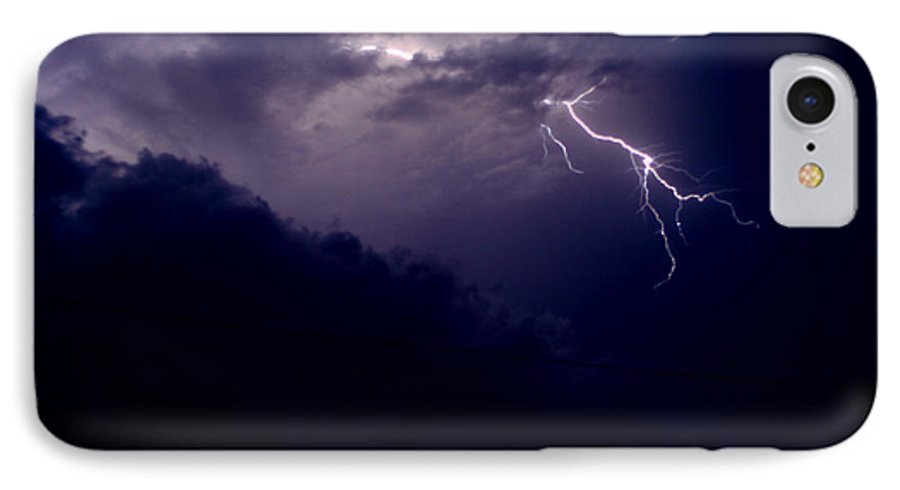 Sky IPhone 7 Case featuring the photograph The Storm 1.3 by Joseph A Langley