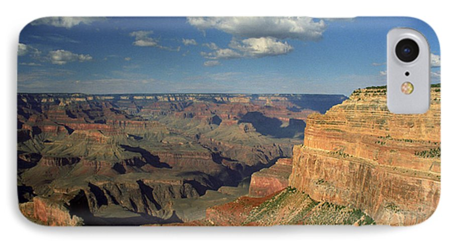 Grand Canyon IPhone 7 Case featuring the photograph This Is My Father's World by Kathy McClure