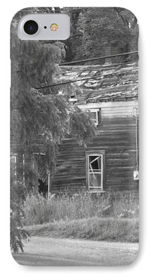 House IPhone 7 Case featuring the photograph This Old House by Rhonda Barrett