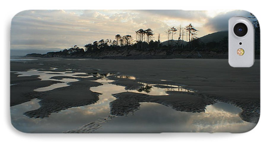 Oregon IPhone 7 Case featuring the photograph Tidepools At Dawn by Idaho Scenic Images Linda Lantzy