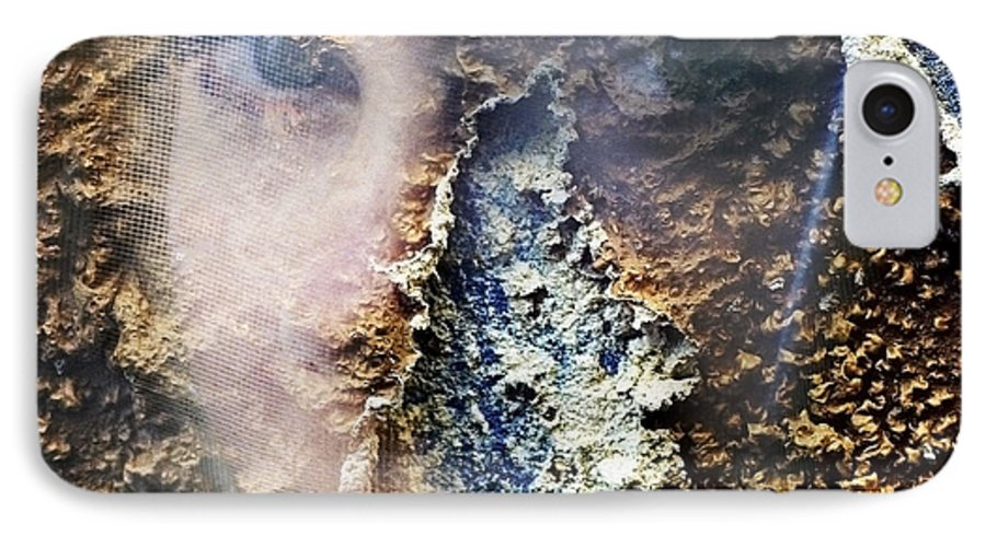 Female IPhone 7 Case featuring the photograph Torn by Skip Hunt