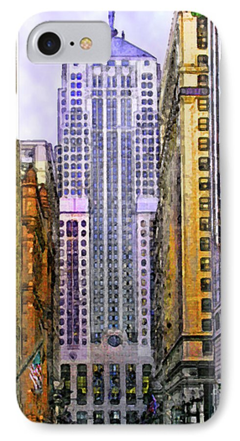 Trading Places IPhone 7 Case featuring the digital art Trading Places by John Beck