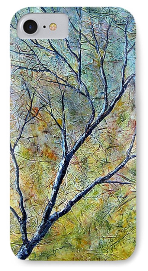 IPhone 7 Case featuring the painting Tree Number One by Tami Booher