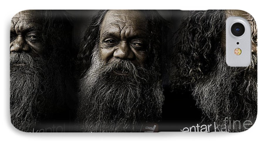 Triptych IPhone 7 Case featuring the photograph Triptych Of Cedric by Sheila Smart Fine Art Photography