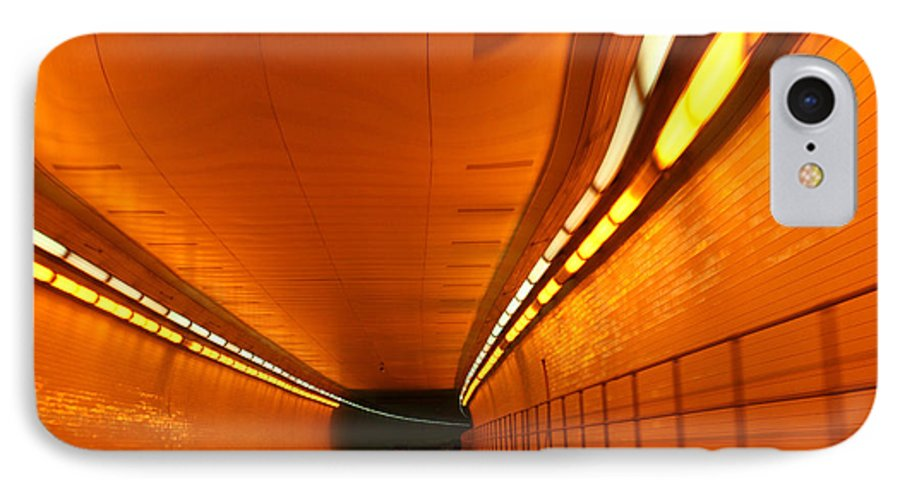 Tunnel IPhone 7 Case featuring the photograph Tunnel by Linda Sannuti
