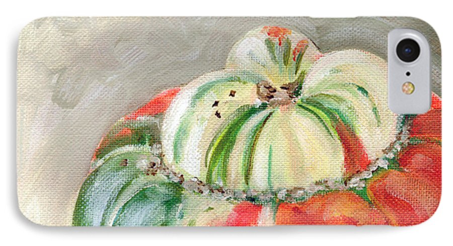 Still-life IPhone 7 Case featuring the painting Turks Turban by Sarah Lynch