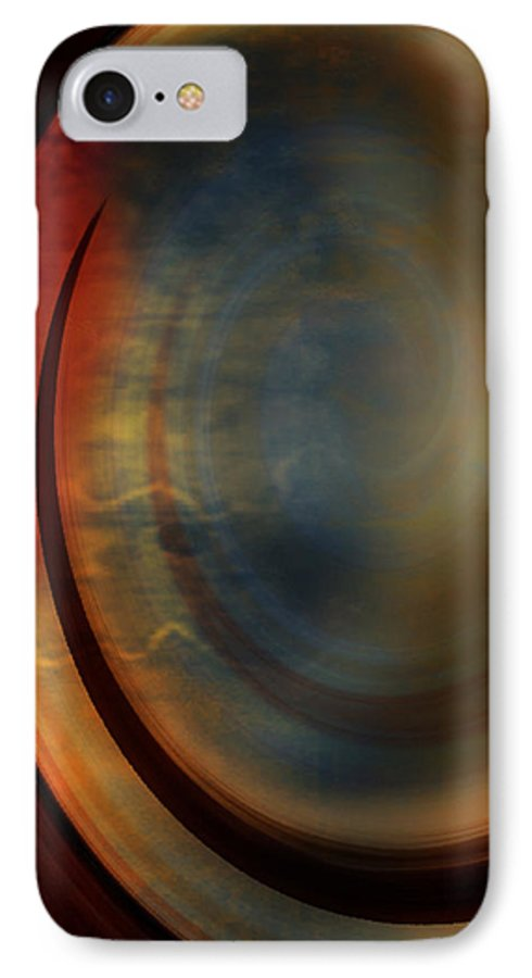 Tuscan 2 IPhone 7 Case featuring the painting Tuscan 2 by Jill English
